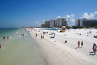 Clearwater Beach is a popular vacation destination on the Gulf coast of Florida. Photo / Getty Images