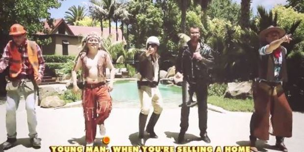 Loading A hilarious Village People parody has appeared on You Tube warning Auckland real estate agents to watch their backs or they'll wind up before the 'R.E.A.A'. Photo: YouTube