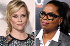 Hollywood star Reese Witherspoon and talk show queen Oprah Winfrey are headed to New Zealand. Photos / AP