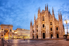 Check out the amazing views from the Duomo di Milano. Photo / 123RF