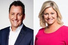 Mike Hosking and Toni Street host the television programme, Seven Sharp.