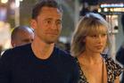 Taylor Swift and then- boyfriend Tom Hiddleston. Photo / Splash News Australia