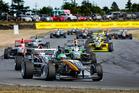 Taylor Cockerton leads the Toyota Racing Series field. Photo / Matthew Hansen