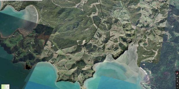 The farm on the island is 189ha.