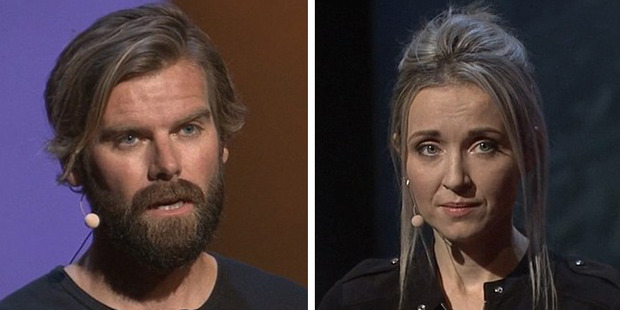 Loading Rape survivor, Thordis Elva, from Iceland, and her rapist, Tom Stranger, from Australia (pictured), have teamed up 20 years after the event to tell their story. Photo / TED talks