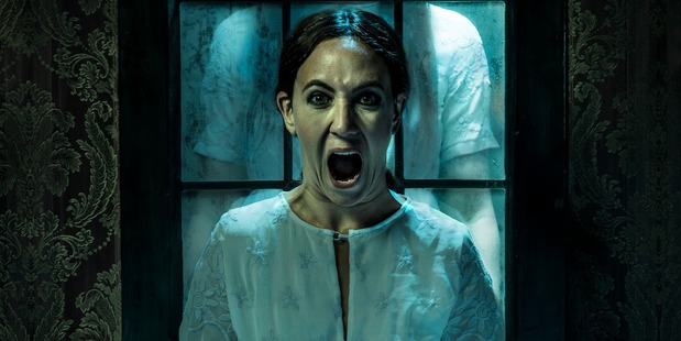 """Horror is described as """"ingeniously gruesome and strangely poetic, sinister and chilling ..."""""""