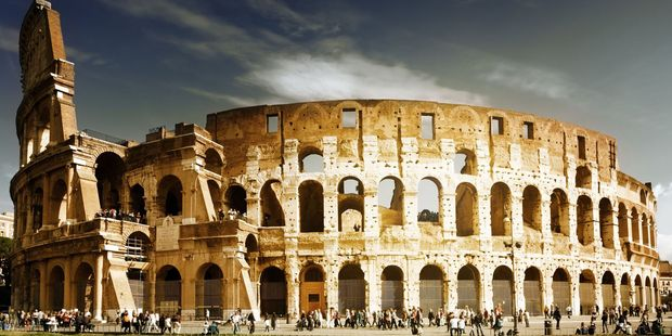 Rome's Colosseum seems to be a magnet for vandals, who often pay a heavy price. Photo / 123RF