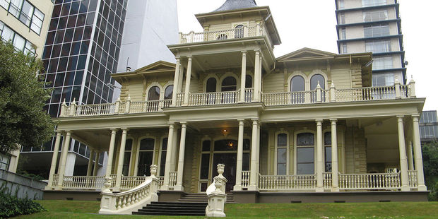 Antrim House in Wellington, a heritage building where the event will be held. Photo / Wikimedia