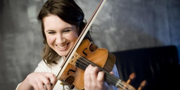 Violinist Chloe Hanslip