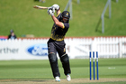 Luke Woodcock helped Wellington chase down their target and reach the final. Photo / photosport.nz