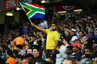 South Africa enjoyed their evening at Eden Park much more than their previous visit. Photo / photosport.nz