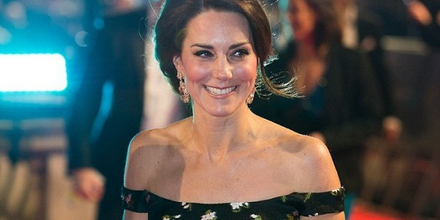 Loading Kate Middleton, the Duchess of Cambridge, glows at the BAFTAs. Photo / AP