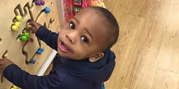 Two-year-old Lavontay was pronounced dead at hospital along with his aunt's boyfriend.