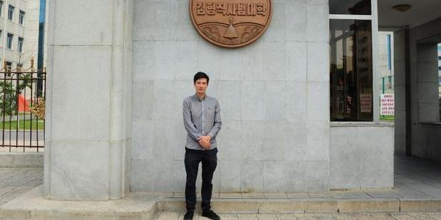 Australian Alek Sigley started a tour company in North Korea. Photo / Supplied