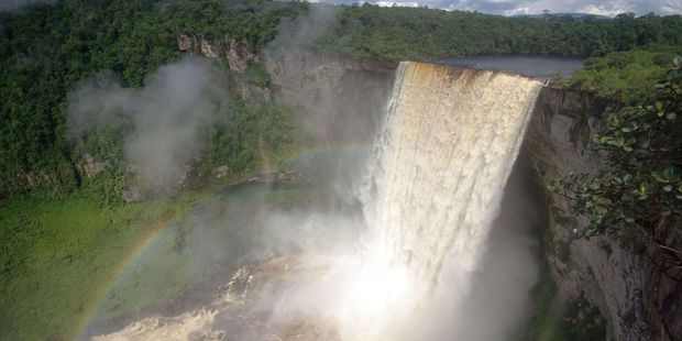Kaieteur Falls in Guyana is best accessed by plane. Photo / 123RF