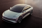 The Lucid Air is projected to hit the road in 2019.
