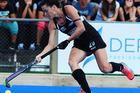 Natasha Fitzsimons in action for the Black Sticks. Photo / Photosport