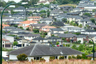 Flat Bush, east Auckland, is quickly becoming a large suburb as it gets developed further. Photo / File