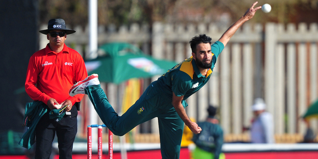Imran Tahir. Photo / Photosport