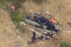 Helicopter pilot fighting the Port Hills fires died when his aircraft crashed today