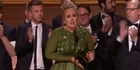 Watch: Watch: Adele Sweeps Grammys With 5 Wins