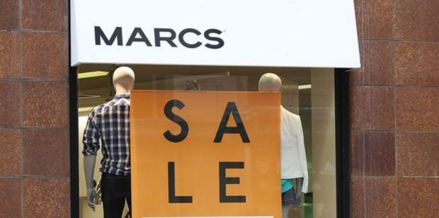 Marcs and David Lawrence are struggling to find a buyer. Photo / Getty