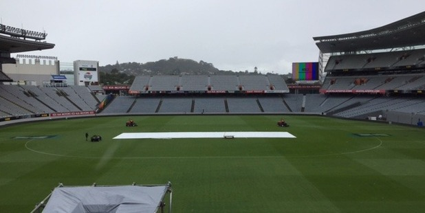 Blair Christiansen and his team had plenty of work to do to get Eden Park ready for T20 action.