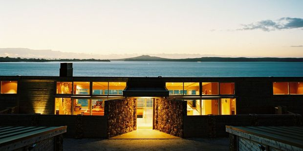 American pop singer Lady Gaga has stayed at this luxurious Airbnb on Waiheke. Photo / Supplied
