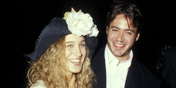 Actress Sarah Jessica Parker and actor Robert Downey, Jr. in 1988. Photo / Getty