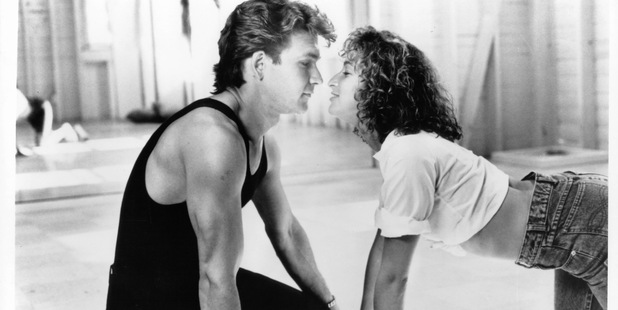 Patrick Swayze and Jennifer Grey in a scene from the film 'Dirty Dancing', 1987. Photo / Getty