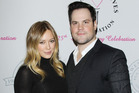 Hilary Duff pictured with Mike Comrie in 2013. Photo / Getty Images