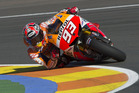 Marc Marquez during the MotoGP of Valencia Free Practice. Photo / Getty Images