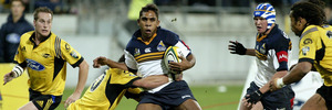 Andrew Walker playing for the Brumbies back in 2003. Photo / Getty