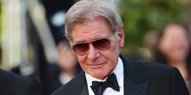 Harrison Ford's small scar. Photo / Getty