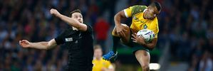 Kurtley Beale in action for the Wallabies against the All Blacks. Photo / Getty