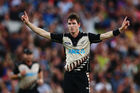 Adam Milne could be back in the Black Caps shortly. Photo / Getty