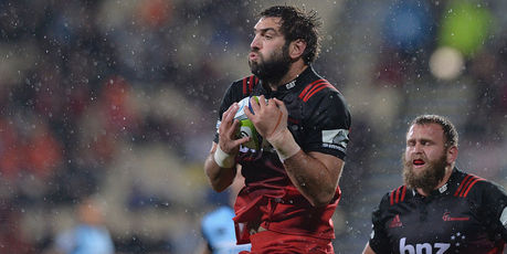 Sam Whitelock is back to captain the Crusaders. Photo / Getty