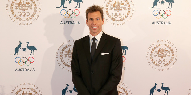 Former Olympic swimming gold medallist Grant Hackett. Photo / Getty Images.