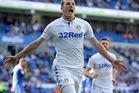 Leeds United's Chris Wood. Photo / Getty