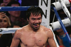 Manny Pacquiao. Photo / Getty Images.