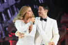 Mariah Carey and dancer Bryan Tanaka perform in December, 2016. Photo / Getty Images