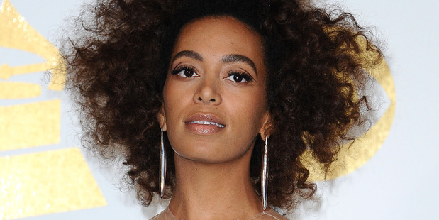 Solange Knowles at the Grammys 2017. Photo / Getty