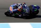 Maverick Vinales rides during 2017 MotoGP pre-season testing at Phillip Island. Photo / Getty Images