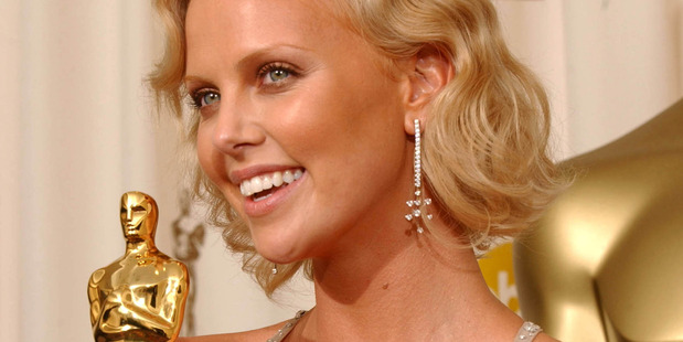 Charlize Theron, winner for Best Actress for Monster. Photo / Getty