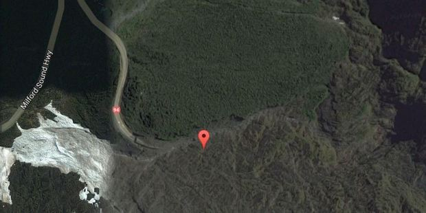 Emergency services are attending a crash on the Milford side of the Homer Tunnel. Photo / Google