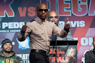 Reports say Floyd Mayweather Jr and Conor McGregor agreed to terms after an intense negotiating period. Photo / AP