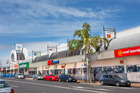 Hunters Plaza at 217 Great South Rd is anchored by a Countdown and Kmart. Photo / Supplied