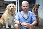 Steven Oates is overseeing a dog show at this year's Pride Festival. Photo / Jason Oxenham