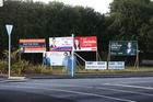 Mt Albert By-Election bill boards in Auckland today. Photo / Doug Sherring