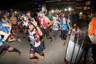 ENDURANCE: Runners set off to tackle the Tarawera Ultramarathon on Saturday. PHOTO/BEN FRASER